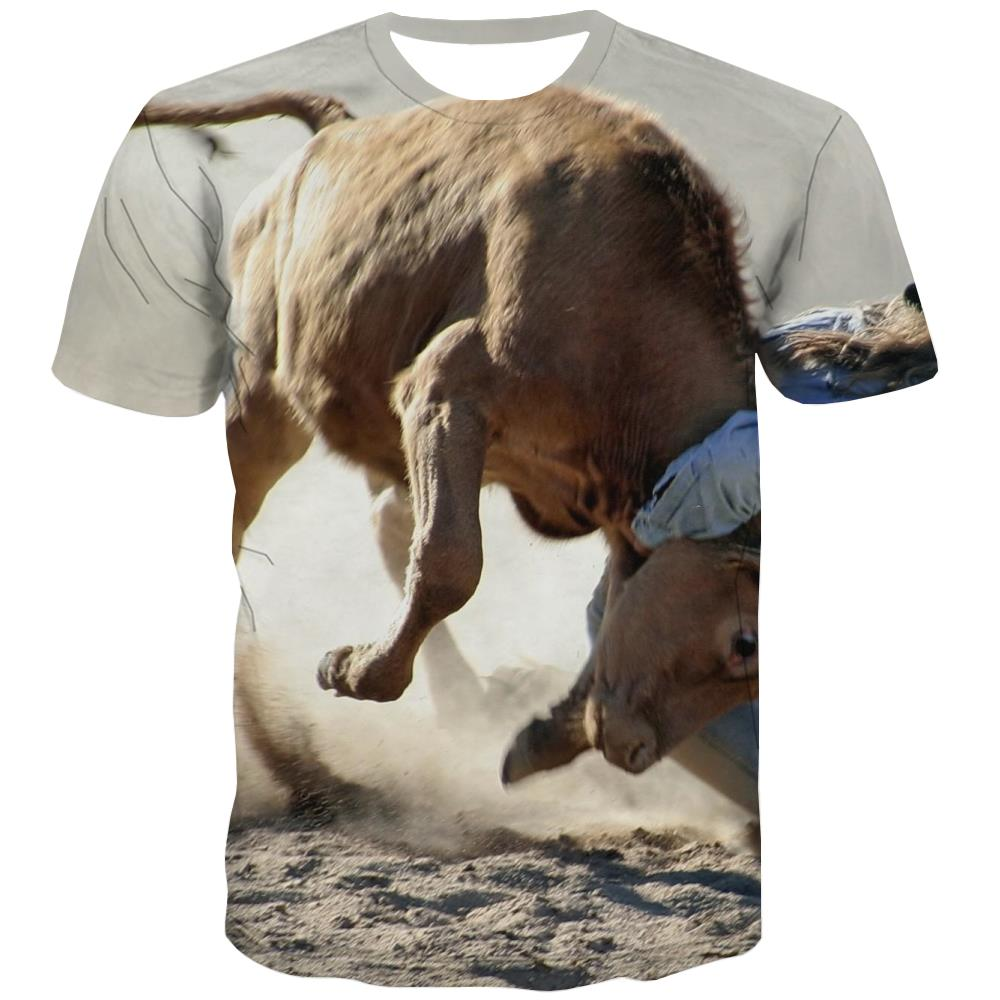 Borse T shirts Men Competition Tshirt Printed Raced Shirt Print Equestrian Tshirts Novelty