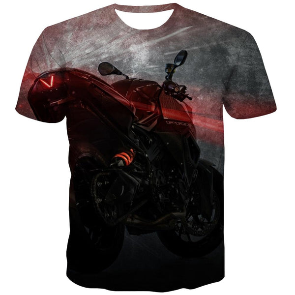 Bicycle T shirts Men Metal T-shirts Graphic City T-shirts 3d Psychedelic Tshirt Printed
