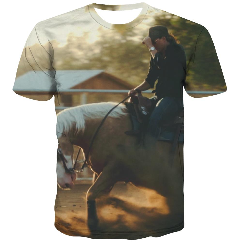 Borse T shirts Men Competition Tshirt Anime Raced Tshirts Casual Equestrian Tshirt Printed