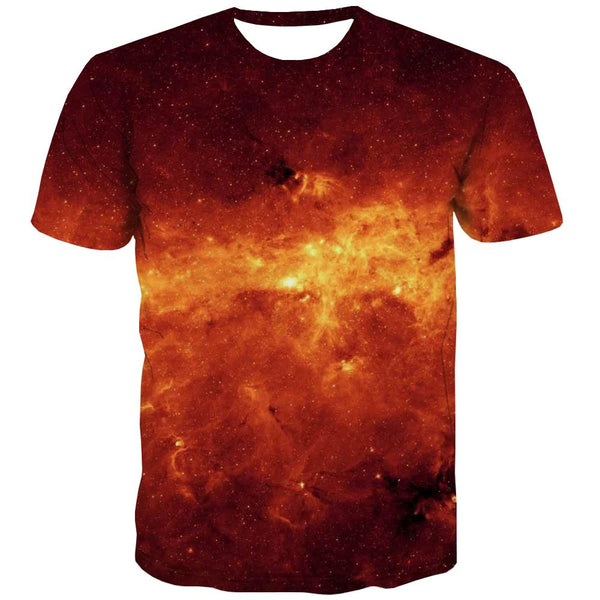 Galaxy T shirts Men Planet T shirts Funny Starry Sky Tshirts Casual Colorful Shirt Print Harajuku Tshirt Printed