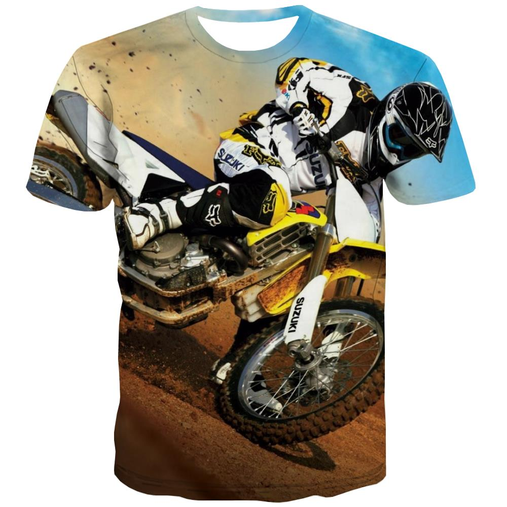 Bicycle T-shirt Men Metal T-shirts Graphic City Tshirt Printed Psychedelic Tshirt Anime