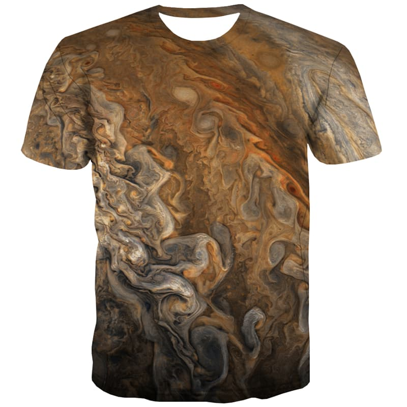 Universe T shirts Men Space T-shirts Graphic Abstract Shirt Print Psychedelic Tshirts Novelty