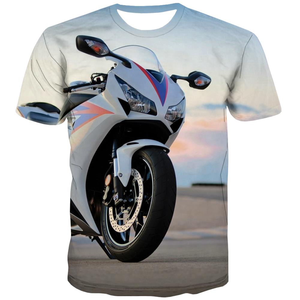 Bicycle T shirts Men Metal Shirt Print City Tshirts Casual Psychedelic T shirts Funny
