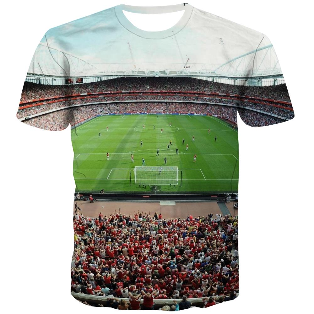 Lawn T shirts Men Football T shirts Funny Athletics Tshirt Anime Stadium Tshirts Novelty
