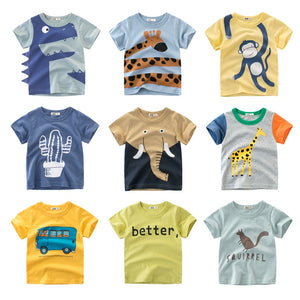 Summer 2019 Boys Collection T-Shirts