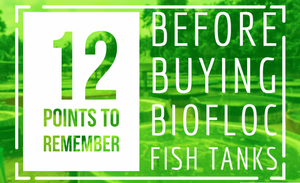 12 POINTS TO BE KNOWN BEFORE BUYING BIOFLOC TARPAULIN TANKS