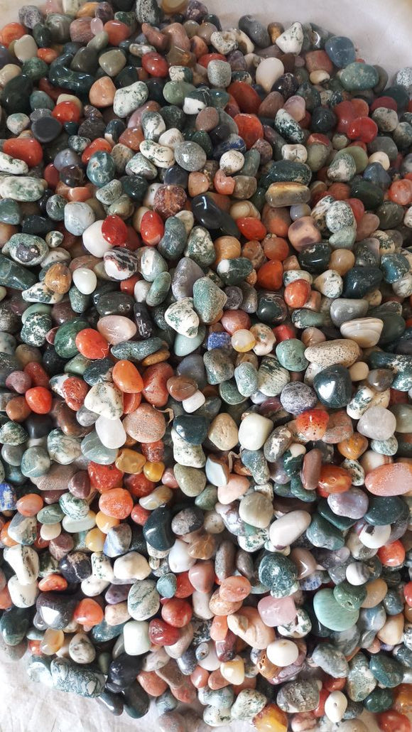 MIX POLISH DECORATIVE AGATE, 1 KG