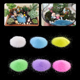 1 BAG COLORFUL QUARTZ SAND FOR AQUARIUM