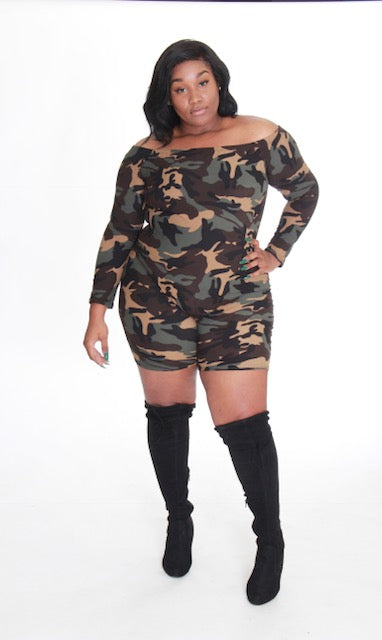 Fly Camo Jumpsuit