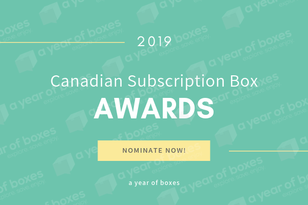Nominate Good Stuff for the 2019 Canadian Subscription Box Awards