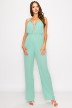 Load image into Gallery viewer, Mint Jumpsuit