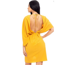 Load image into Gallery viewer, Sleeve Wrap Mini Dress