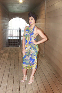 Tropical Curve Dress