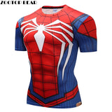 Spiderman 3D SS Rash Guard