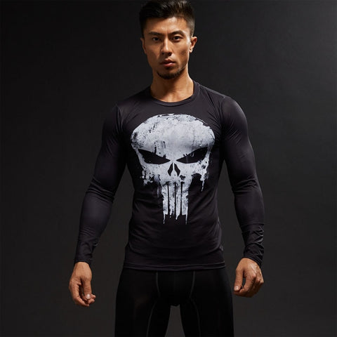Punisher LS Rash Guard