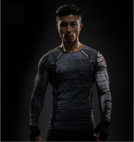 Winter Soldier LS Rash Guard