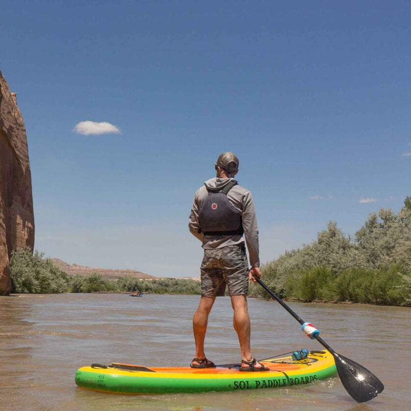 SOL Carbon Blaster Three-Piece Travel Paddle Lifestyle 3