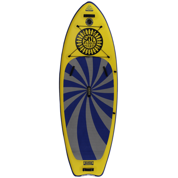 SOLocho Inflatable Paddle Board GalaXy Collection Top View