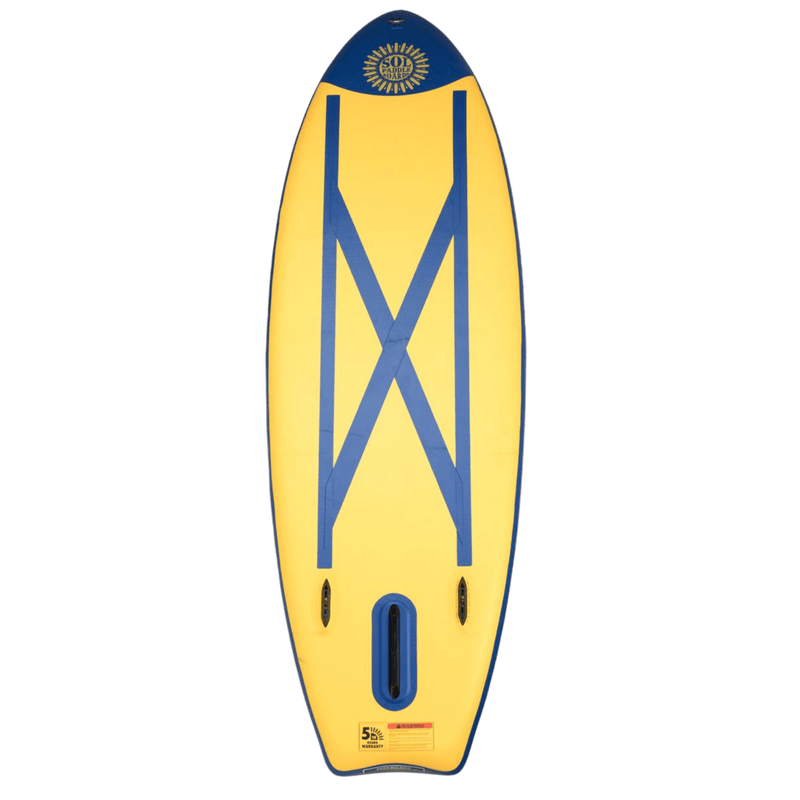 SOLshine Inflatable Paddle Board GalaXy Collection Bottom View