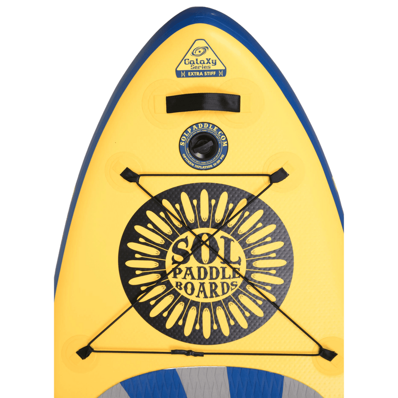SOLshine Inflatable Paddle Board GalaXy Collection Nose View