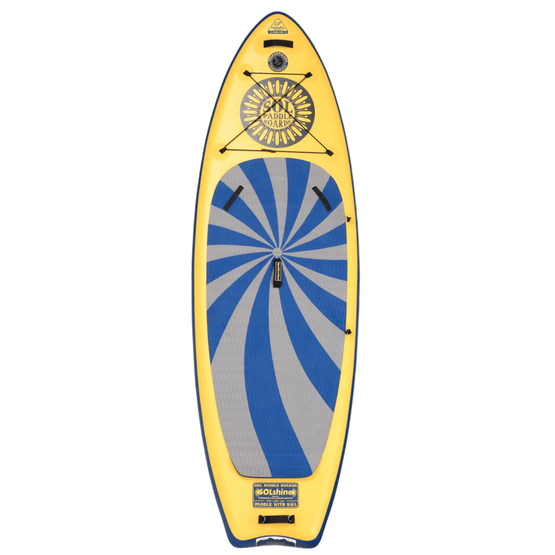 SOLshine Inflatable Paddle Board GalaXy Collection Top View