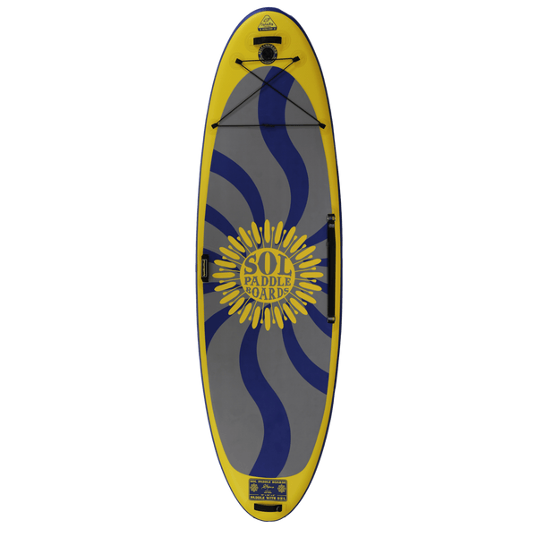 SOLshiva Inflatable Paddle Board GalaXy Collection Top View