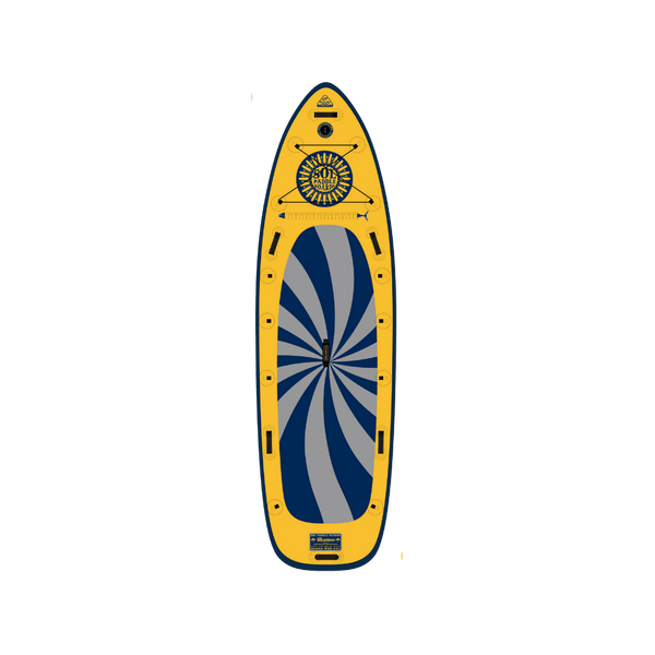SOLsombrero Inflatable Paddle Board Infinity Collection Top View