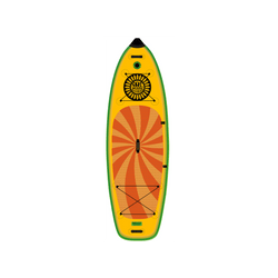 SOLstout Inflatable Paddle Board Classic Series Top View