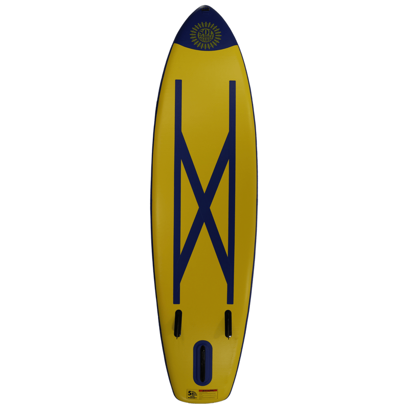 SOLtrain Inflatable Paddle Board GalaXy Collection Bottom View