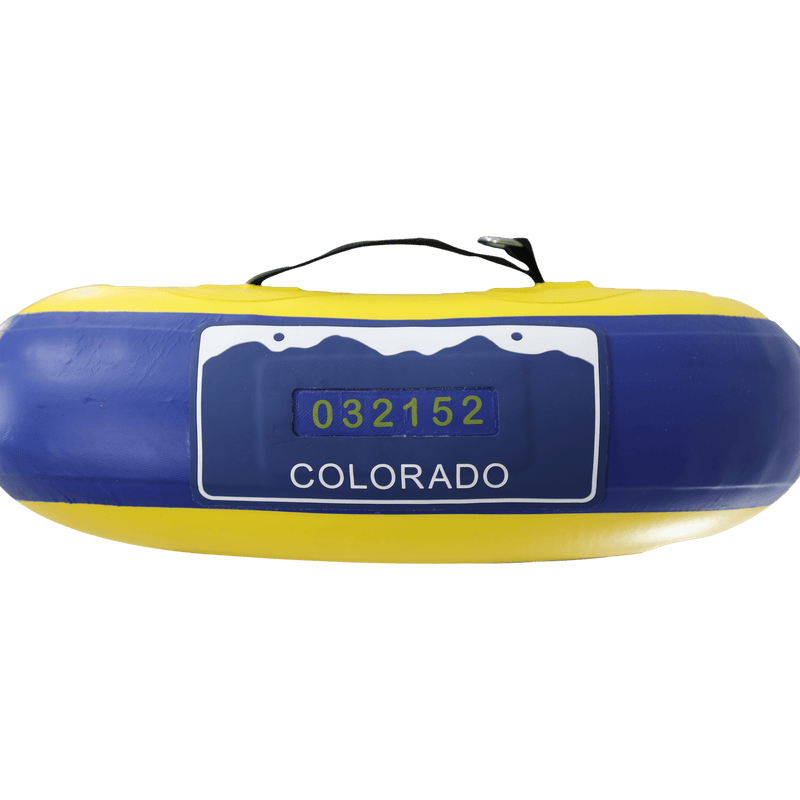 SOLtrain Inflatable Paddle Board GalaXy Collection License Plate View