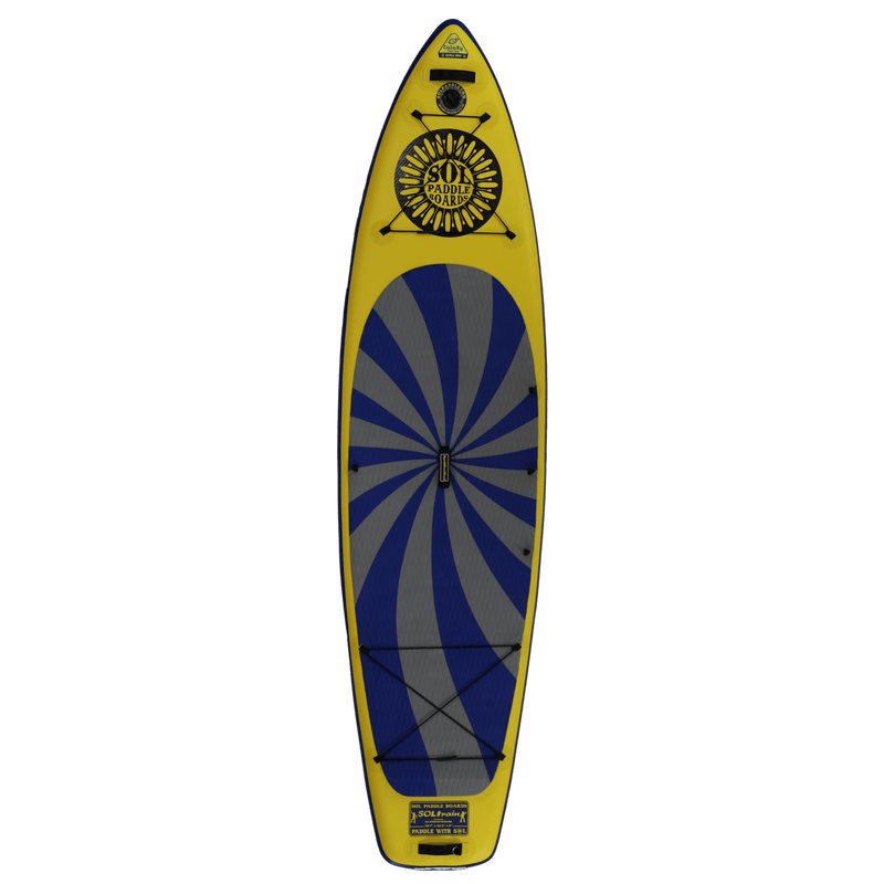 SOLtrain Inflatable Paddle Board GalaXy Collection Top View