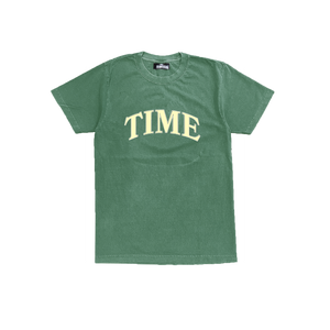 Time Embroidered Tee