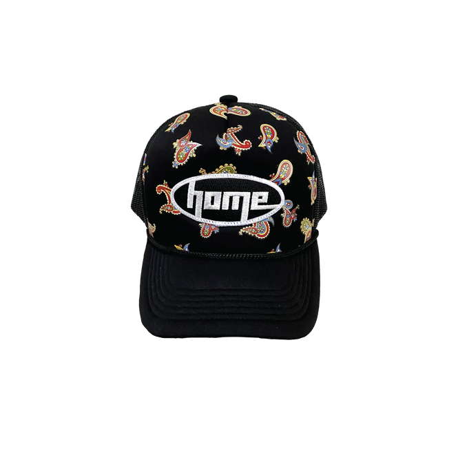 Paisley Monogram Classic Home Trucker Hat