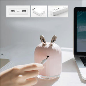 Mini umidificador USB