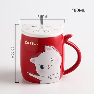 Caneca Happy Cat