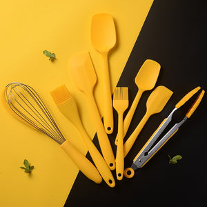 Utensílios de Silicone Yellow Kitchen
