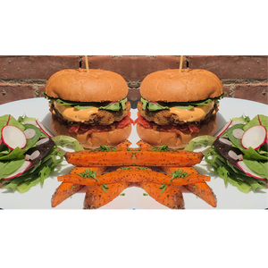 Wednesday 8/21 Dinner Special is Double Burger Box!