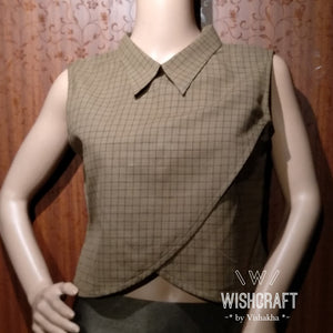 Office wear top design 146 - trendy and elegant- limited edition