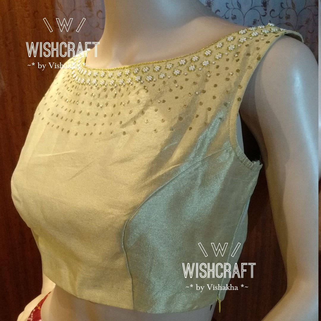 Blouse Design 105s - Indian blouse online store - theblousestore