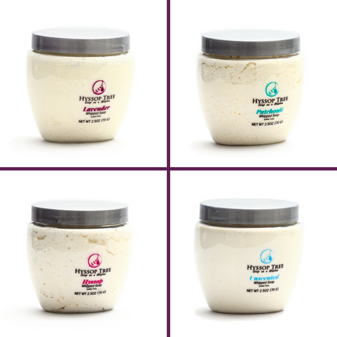 Whipped Soaps by Hyssop Tree