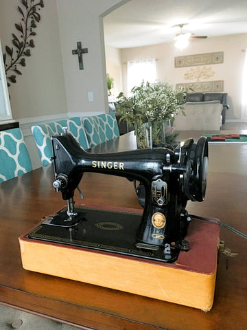 Singer 99k restored for quilting