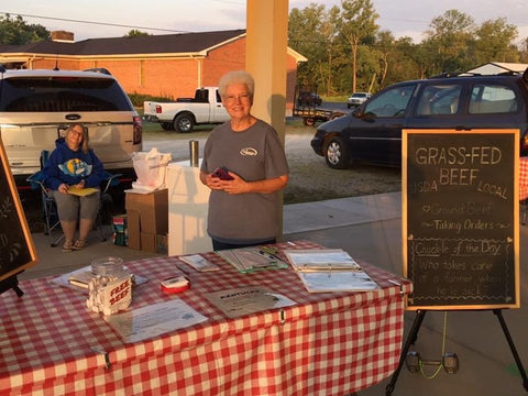 Living Water Ranch KY at Hardin County Farmers Market in Kentucky