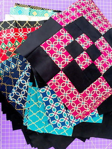 Charity Quilt blocks by Dorathy Lachman