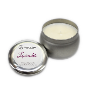 All-Natural Candle (Lavender or Patchouli)