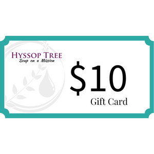 Hyssop Tree Gift Card