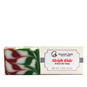Sleigh Ride Artisan Soap Bar