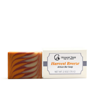 Harvest Breeze Artisan Bar Soap by Hyssop Tree