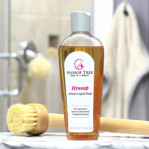 Liquid Soap with Hyssop Essential Oil by Hyssop Tree