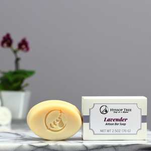Goat Milk & Oatmeal Soap with Lavender