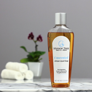 Unscented True Liquid Soap by Hyssop Tree